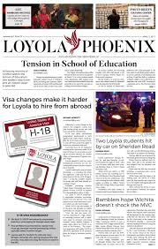loyola phoenix volume 48 issue 25 by loyola phoenix issuu