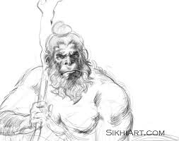 beautiful sikh punjabi and hindu drawings sikhi art