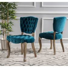 Tufted Dining Chair Set Maison Anwar Tufted Dining Chairs Set Of 2 Free Shipping