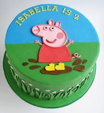 peppa pig birthday cakes peppa pig birthday cake