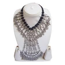 antique sterling silver necklace images Rajasthani old silver necklace antique look at rs 33500 piece jpg