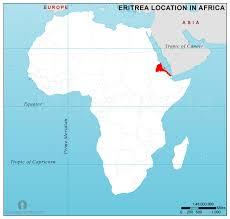 africa map eritrea eritrea location map in africa eritrea location in africa