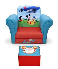 mickey mouse kids table delta children mickey mouse upholstered kids club chair and ottoman