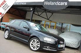 used audi used audi cars shrewsbury second hand cars shropshire welland cars