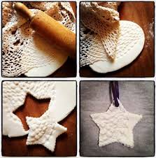 salt dough ornaments i the texture of these so