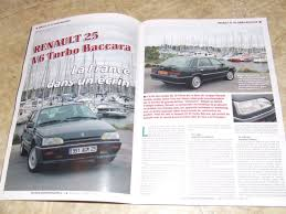 renault 25 v6 turbo nouvelle renault 25 v6 turbo baccara page 5 auto titre