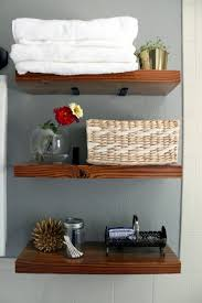 Shelving For Bathrooms Diy Custom Bathroom Shelves Bathrooms Remodeling