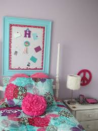 excellent pink and turquoise bedroom for girls lestnic