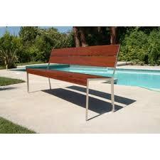 Steel Garden Bench Patio Benches Perigold