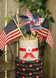 vintage wwll inspired july 4th dessert table celebrating the