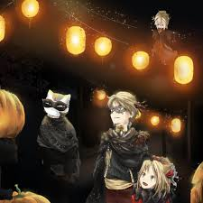 halloween carnival background natsume halloween couleur theme dark carnival by