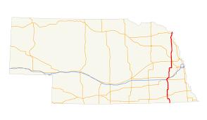 Lincoln Ne Map U S Route 77 In Nebraska Wikipedia