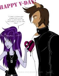 draculaura and clawd mhluvvdaycont pranky and clawd by hasana chan on deviantart