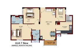 3 bhk house plan stunning 3bhk house plan north facing contemporary plan 3d house