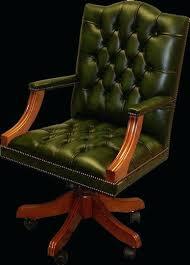 fauteuil de bureau vert chaise de bureau en cuir fauteuil bureau en cuir bureau chaise
