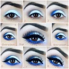 today we are going to show you how to make an amazing ocean blue makeup eye makeup tutorialsmakeup