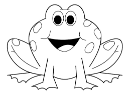 frogs open big mouth coloring pages kids cpz printable