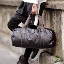 Mens Travel Bag images Men 39 s tote shoulder travel handbag uzbags jpg