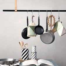 tringle de cuisine barre de rangement cuisine clothe rack tringle a suspension ferm