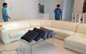 Cleaning White Leather Sofa by Professional Leather Sofa Cleaning Carpet And Upholstery