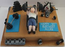 44 best gym cakes images on pinterest gym cake fitness cake and