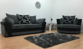 black sofa with swivel chair centerfieldbar com