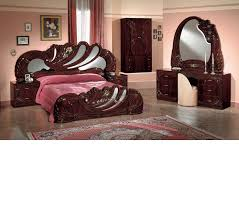 Classic Bedroom Sets Dreamfurniture Com Vanity Mahogany Italian Classic Bedroom Set
