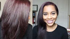 straight or curly hair for 2015 how i blow dry straighten my dyed natural hair youtube