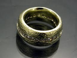 custom rings for men mens custom yellow gold wedding rings mona jewelers