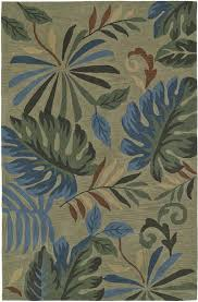 Tropical Area Rugs Casual Area Rugs Free Shipping At Shoppypal Com