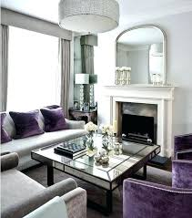 purple livingroom purple grey living room grey and mauve living room purple and gray