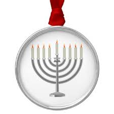 lit menorah ornaments keepsake ornaments zazzle