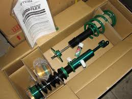 Nissan 350z Coilovers - tein mono flex and super street coilovers in stock nissan 350z