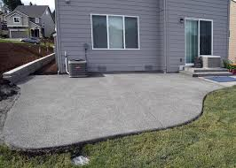 Photos Of Concrete Patios by Hawks Prairie Concrete Patio Extension Ajb Landscaping U0026 Fence