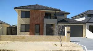 narrow block new home design perth custom designed two storey
