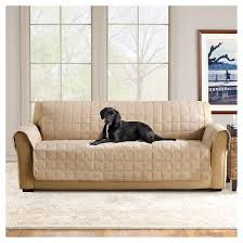 Dog Sofa Covers Waterproof Ultimate Waterproof Suede Sofa Furniture Cover Sure Fit Target