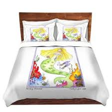 Mermaid Duvet Set Duvet Covers And Shams Dianoche Designs