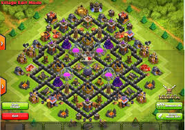 Coc Map Clash Of Clans Layouts For Town Hall Level Seven Th7