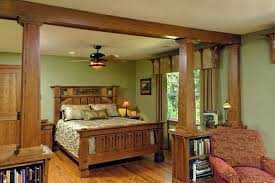 Arts And Crafts Style Curtains Mission Style Master Bedroom Mission Style Is A Design That