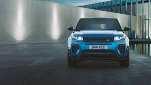 dark blue range rover range rover evoque luxurious models landrover oman