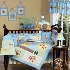 jungle safari crib bedding set by sweet jojo designs