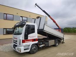used iveco eurocargo 75e18 4x2 euro5 palfinger pk2900 dump trucks