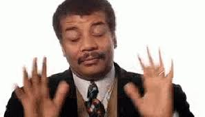 Neil Degrasse Tyson Reaction Meme - neil degrasse tyson classic reaction gif find share on giphy