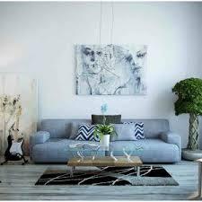 Gray Sofa Decor Furniture Grey Sofa Decor Pad Living Room Couch Coffee Table Two