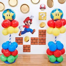 mario wrapping paper mario party ideas birthday express