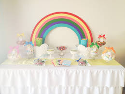rainbow party backdrop rainbow unicorn party kids party