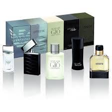 men set giorgio armani eau de toilette mini gift set for men 5