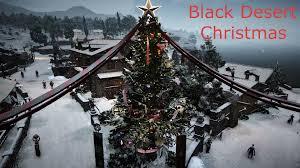 Christmas Town Decorations Black Desert Online Christmas Town Decorations Youtube