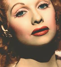 a blog about lucille ball color close up of lucille ball lucy