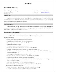 Building Maintenance Worker Resume Declaration Format For Resume Resume For Your Job Application